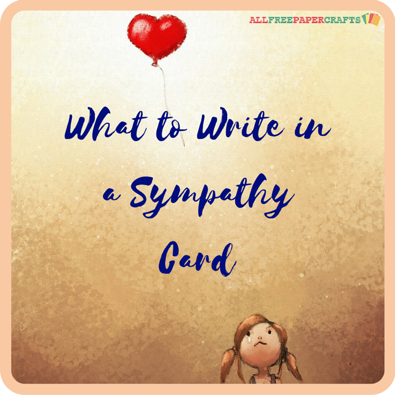 What to write in a sympathy card pinterest cards card what to write in a sympathy card inspirational quotes and words or wisdom to express loss m4hsunfo