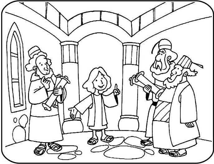 Jesus Goes to the Temple Coloring page Superhero Preschool Art - copy coloring pages for zacchaeus