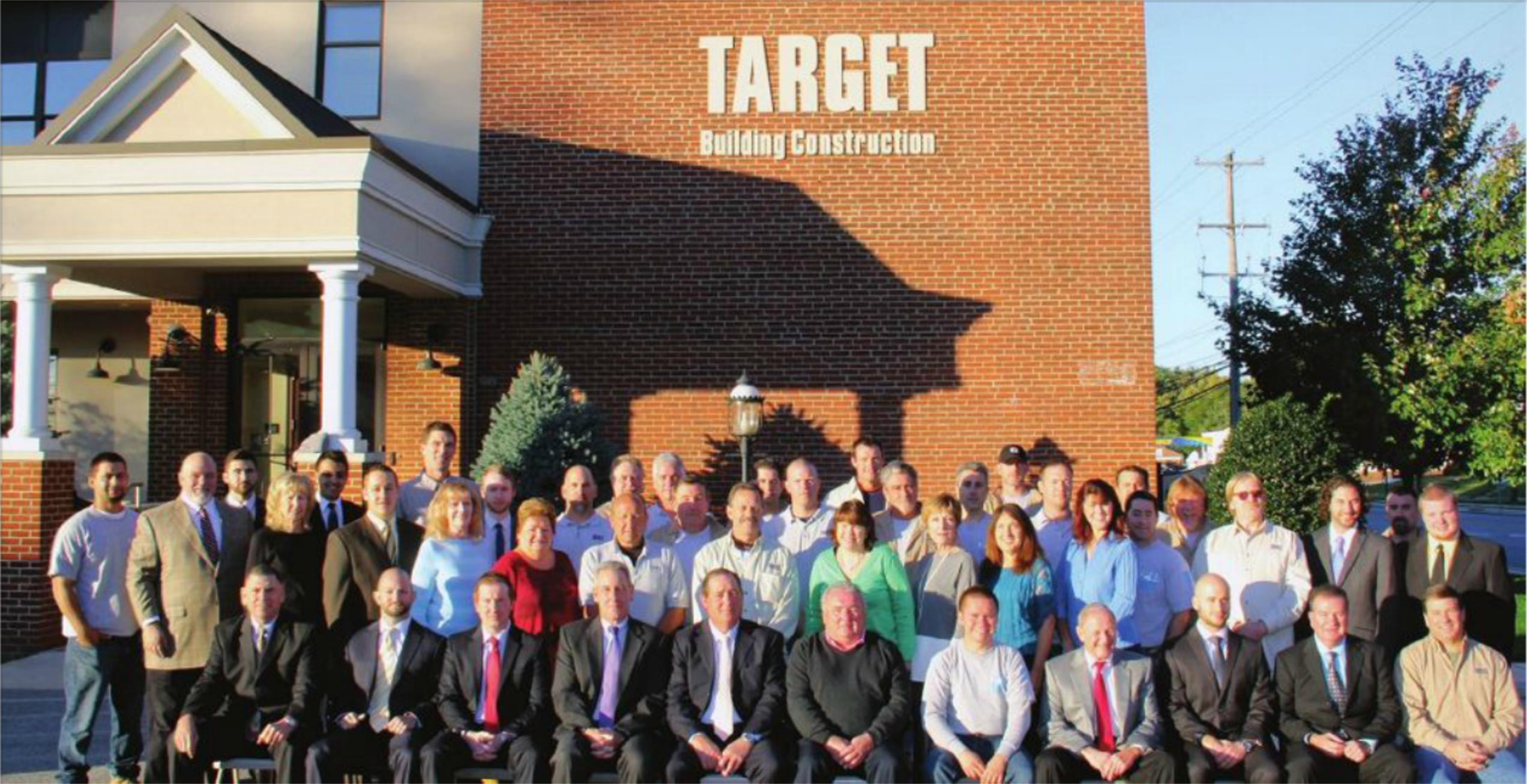 Target Building Construction Celebrating 25 Years: The heart of any business, the essential element that ensures success in the complex world of construction, is relationships.