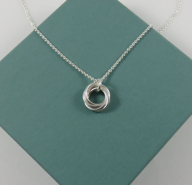 50th birthday gift for women sterling silver birthday