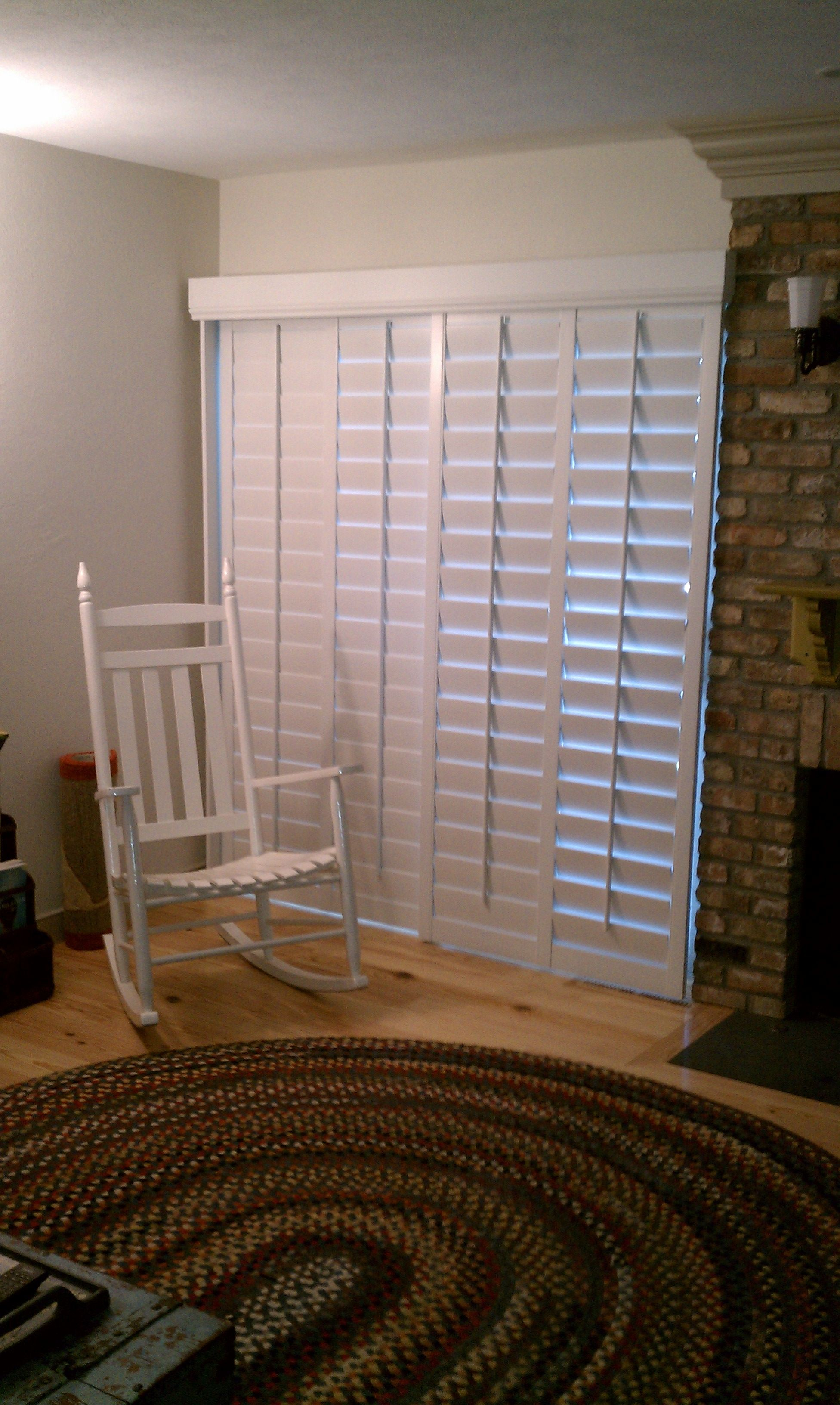 We can create shutters for a great window treatment to go on any