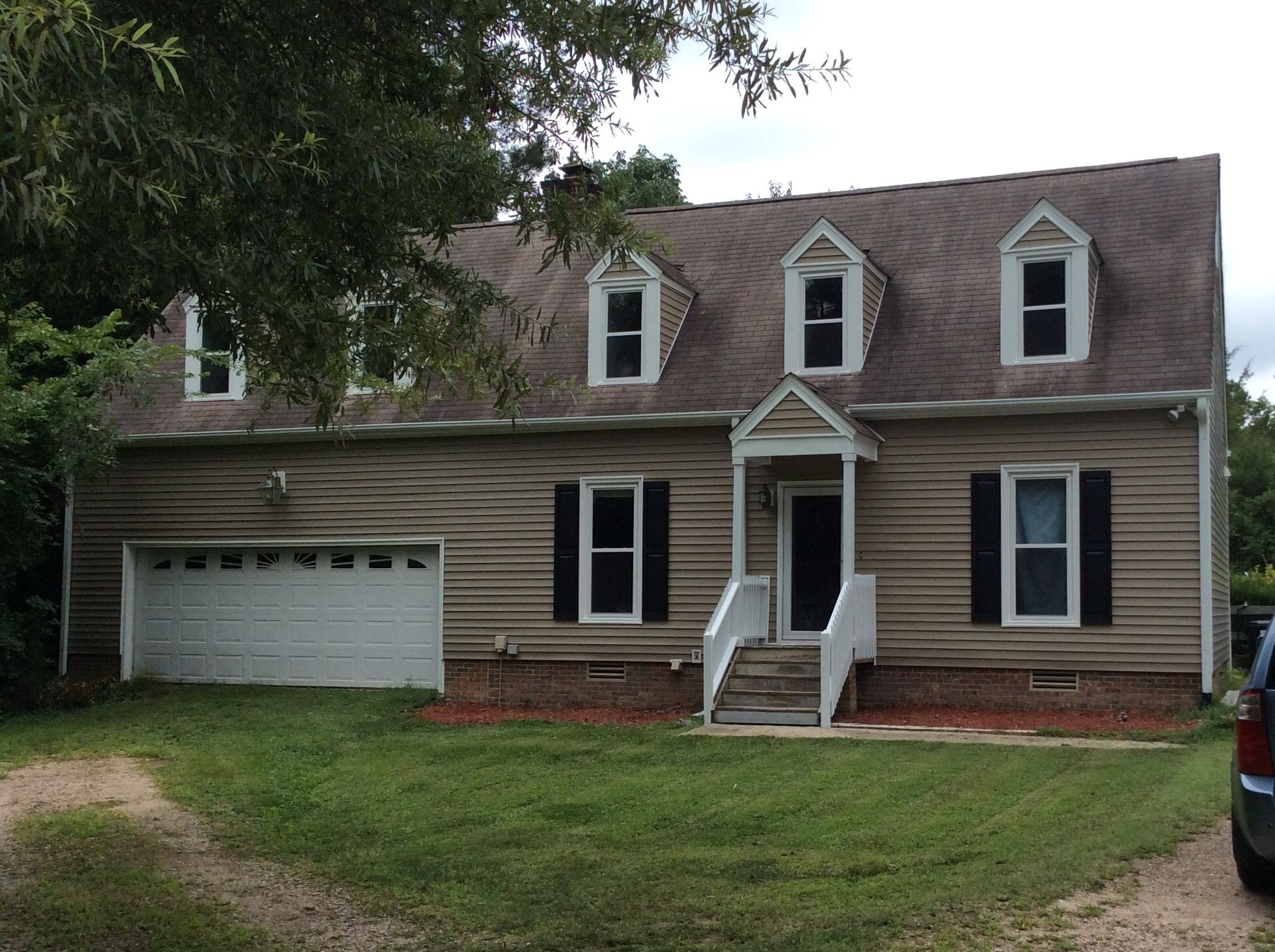 New alside conquest clapboard vinyl siding in tuscan clay for Exterior vinyl siding