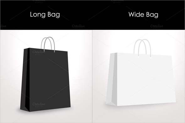 Download Paper Shopping Bag Mockup Paper Shopping Bag Mockup Photoshop Cs3 Files 2 Long And Wide Bags Dimension Bag Mockup Free Graphic Design Graphic Design Brochure