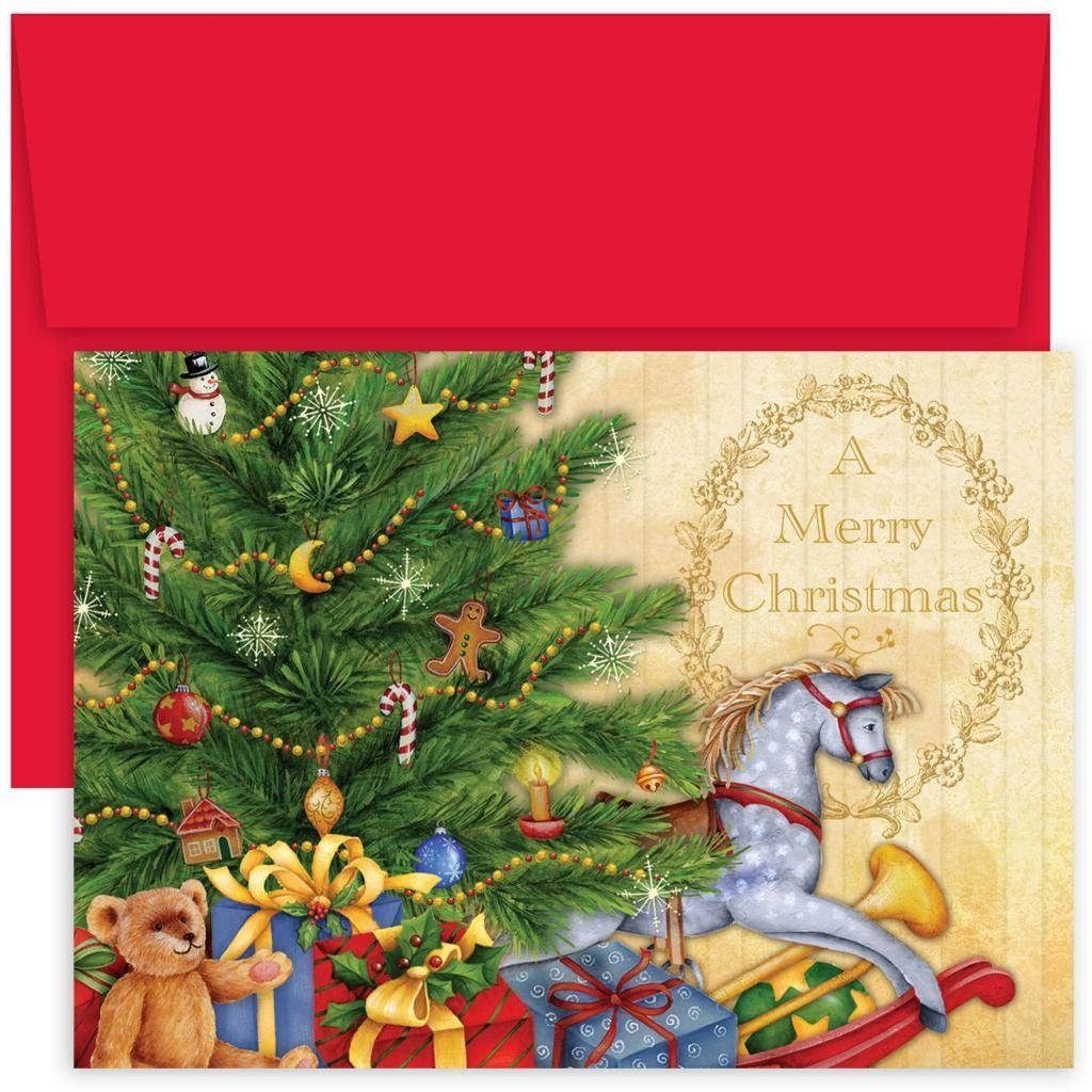 Masterpiece Studios Rocking Horse Boxed Holiday Card | Products ...