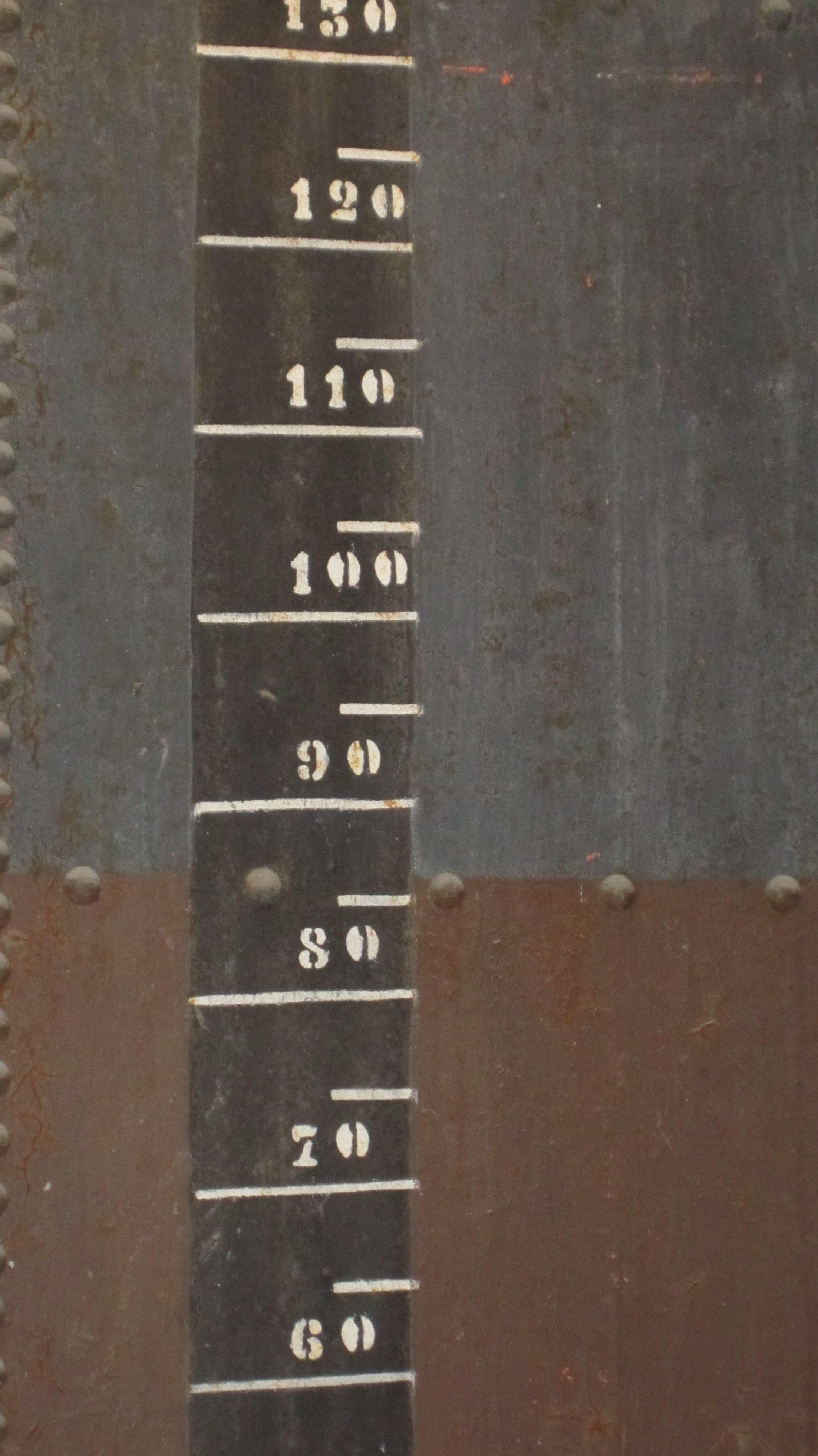 Oil tank measurements, Arsenale