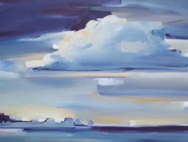 "Saatchi Art Artist Megan Jefferson; Painting, ""Quiet Morning"" #art"