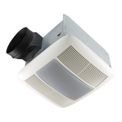 Nutone Qt Series Very Quiet 110 Cfm Ceiling Bathroom Exhaust Fan