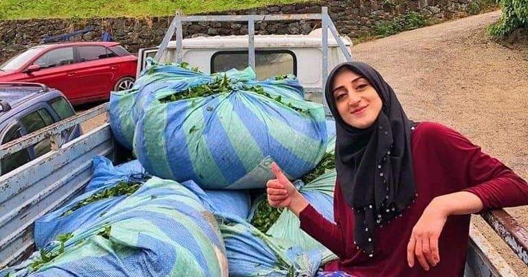 سيدة من الريف التركي في طرابزون فلاحة وام لطفلين تعشق الترتيب انظروا لجمال منزلها آخر الصور مختلفون Drawstring Backpack Bags Drawstring