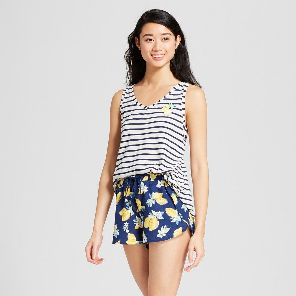 Gilligan and O/'Malley Womens Striped Sleep Top