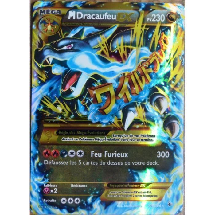 Berühmt carte Pokémon 108-106 Méga Dracaufeu Ex 230 PV | Pokémon, Pokemon  US38