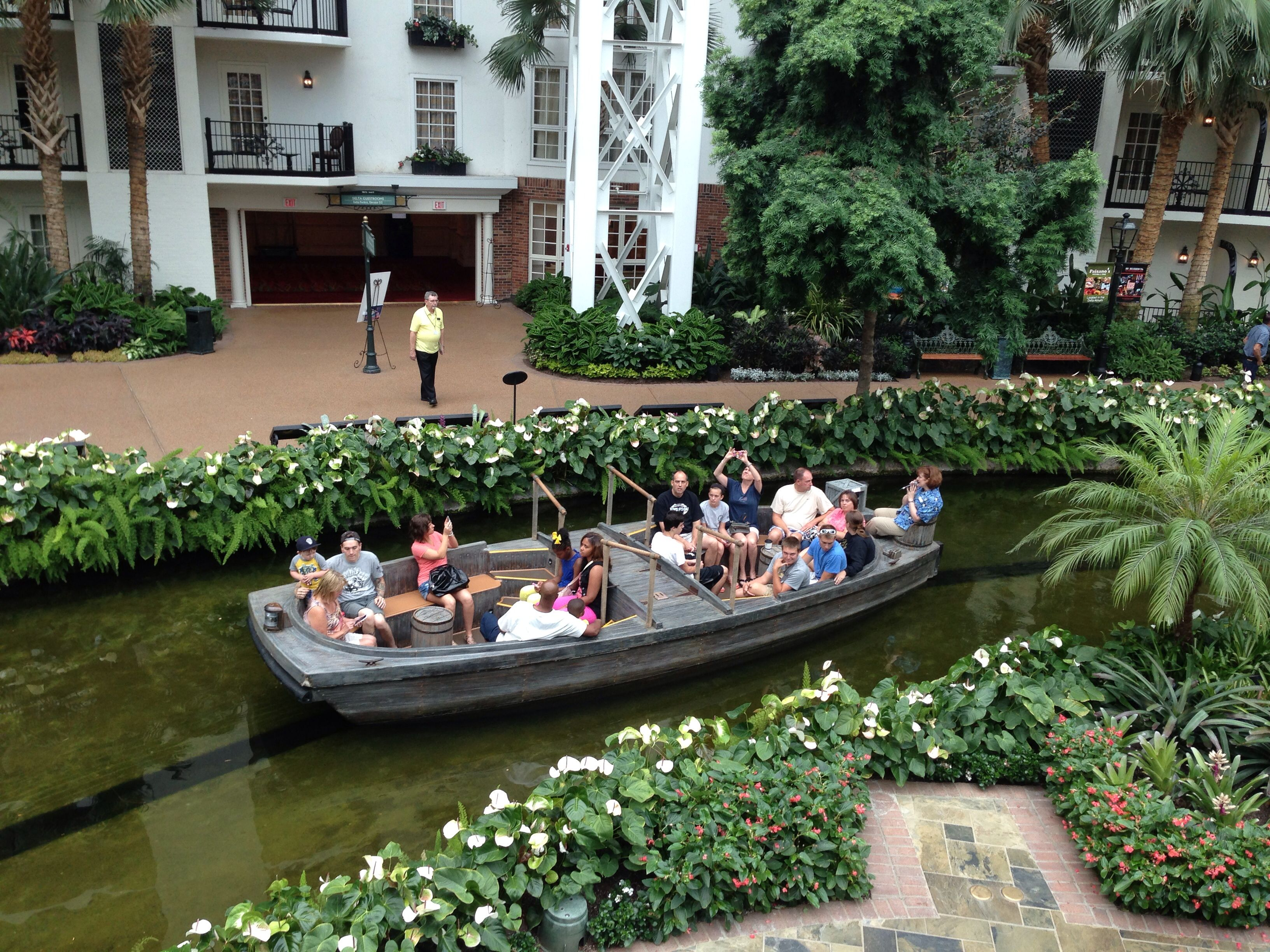 Boat Ride Gaylord Hotel In Nashville Tennesee