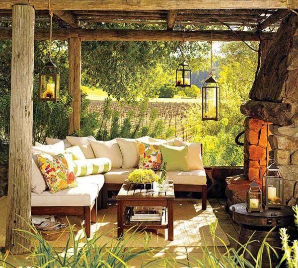 Le salon de jardin et le plaisir du choix | Décoration de salons, Le ...