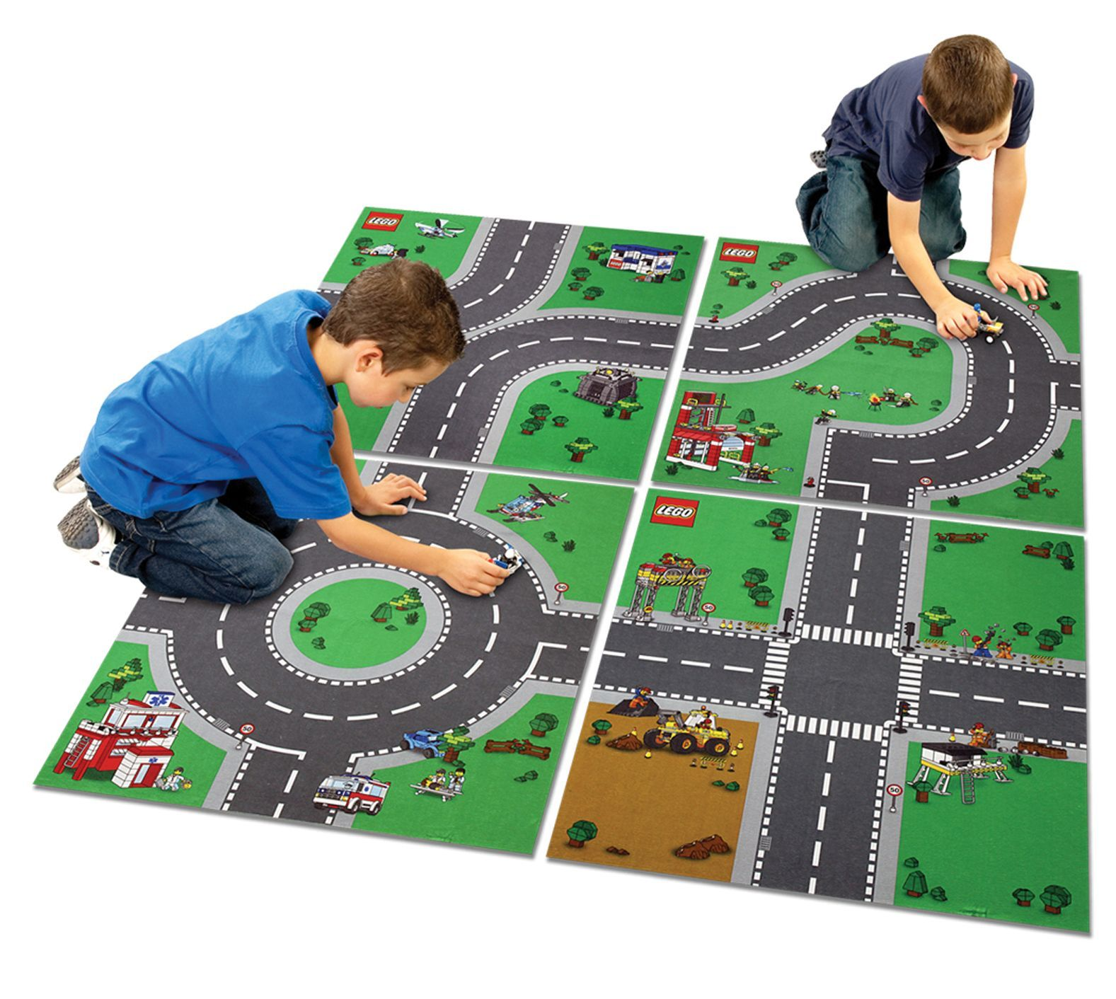 Lego City Playmat 4 Mats Lego City Playmat Play Mat