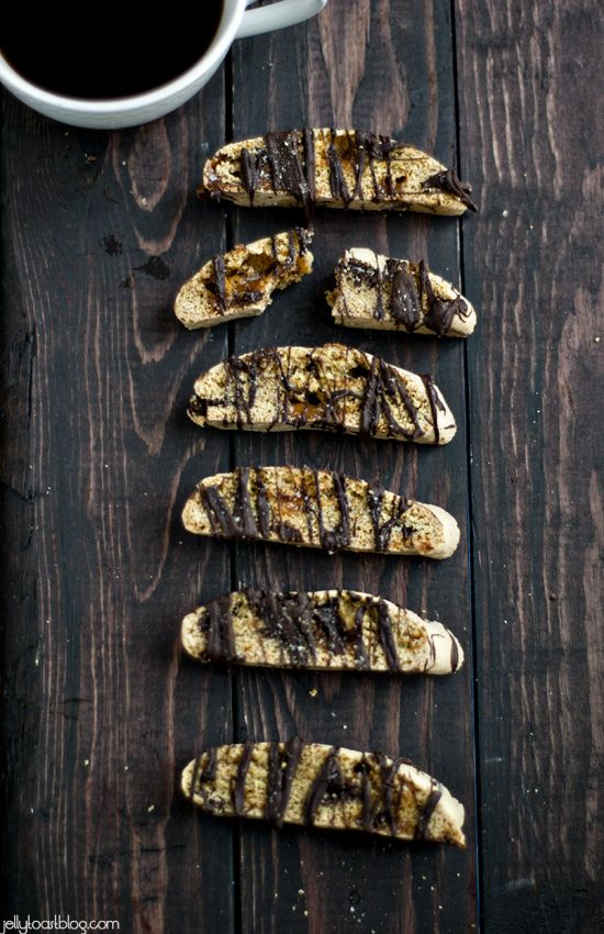 Jelly Toast: Salted Caramel Chocolate Biscotti