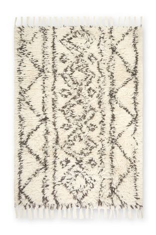 Geometric Wool Berber Rug From The Next Uk Online
