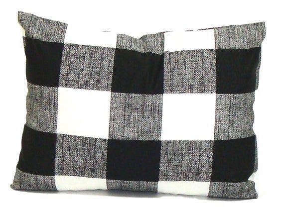 Plaid Fall Pillow ->> SHIIPS FAST. Christmas Pillow, Christmas Pillow Cover, Christmas Decor,...