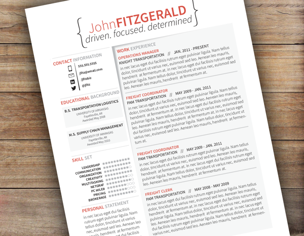 Resume Amp Cv Templates At Www Resumelaunch Net Via Behance