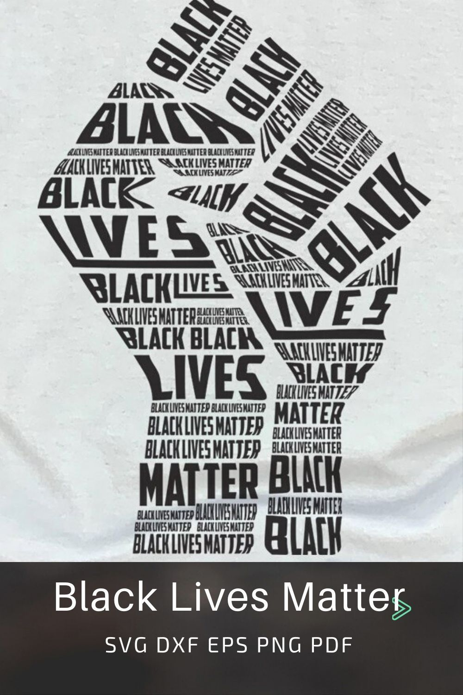 Pin on Black Lives Matter • BLM SVG Cut Files