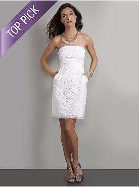 White Sundress- this site has some great items for those of us who ...