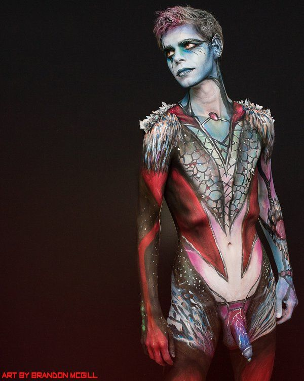 Pin By Dan Bookham On Tattoos Body Painting Men Male Body Art Body Painting