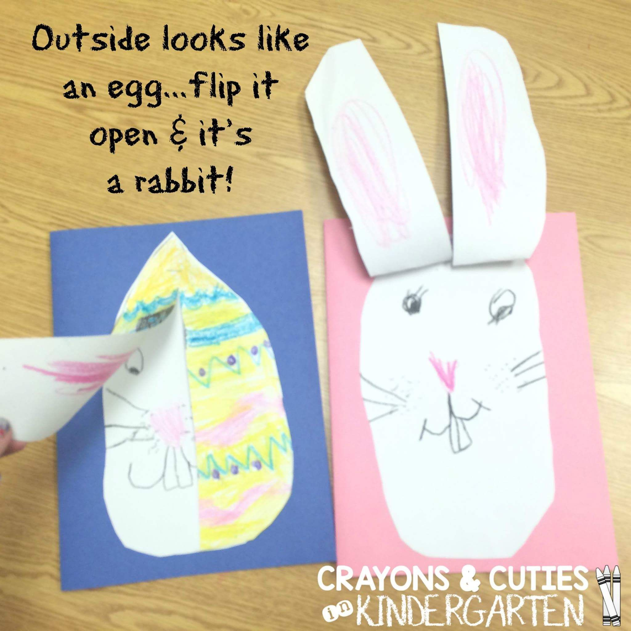 Crafts for Easter in the kindergarten - 7 original Easter crafts that you make with your children in a couple of minutes 17