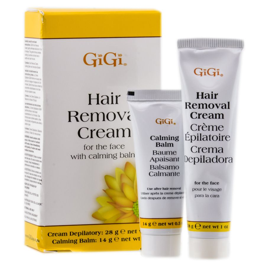 Gigi Hair Removal Cream For The Face Kit Hair Removal Cream