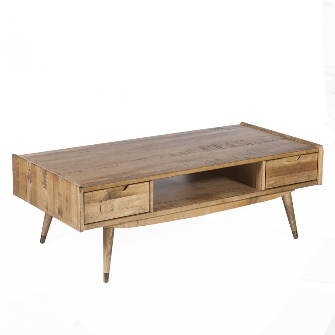 Anders 2 Drawer Coffee Table Coffee Table Mid Century Modern Coffee Table Coffee Table With Storage [ 1100 x 1100 Pixel ]