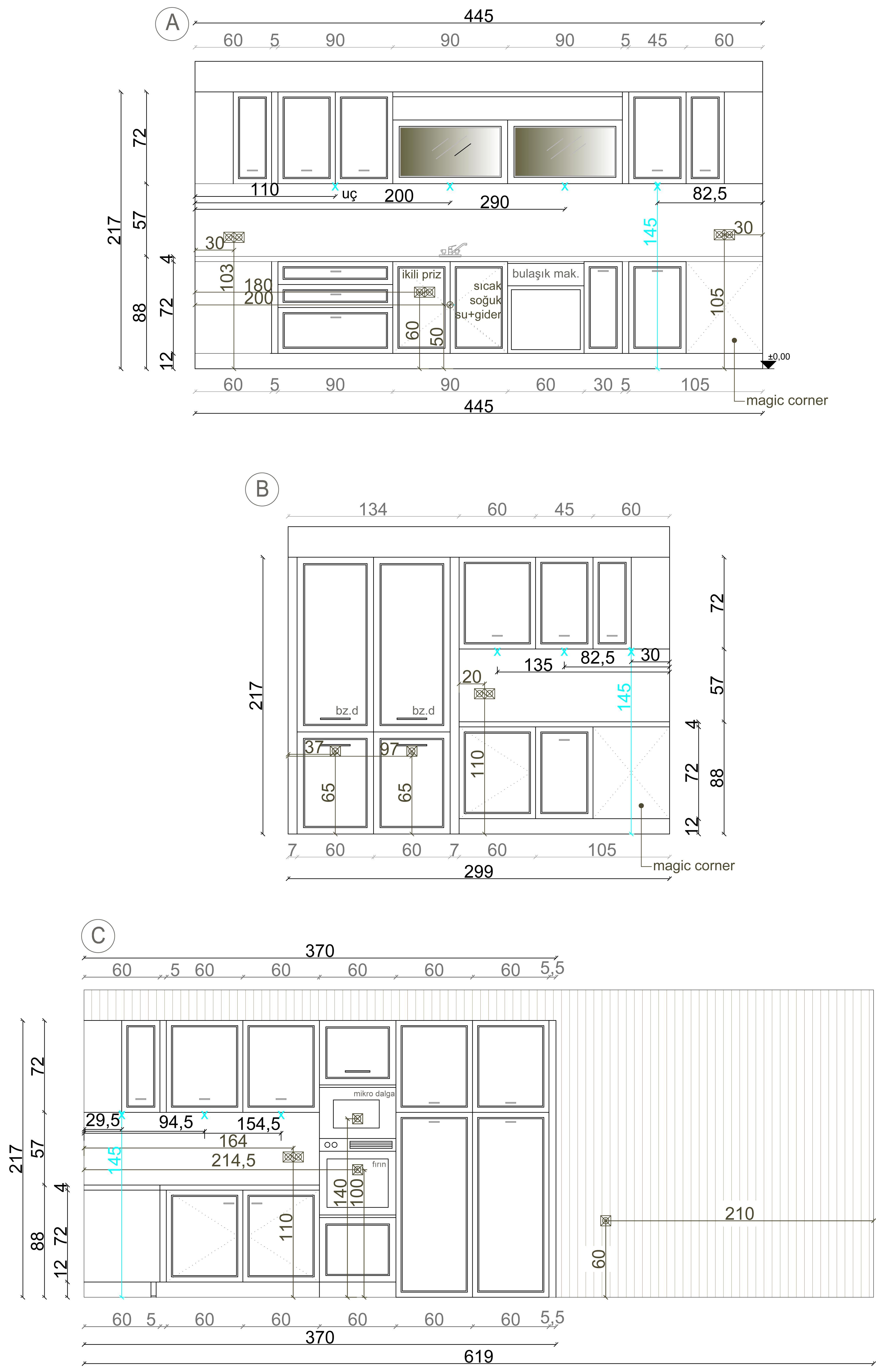 Kitchen Project Elevations Kitchen Cabinet Design Kitchen