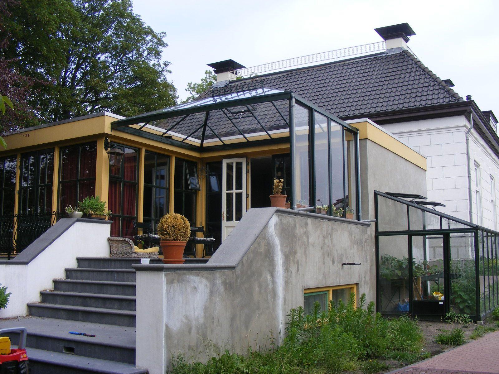 Perdok overkapping en aan de zijkant van het huis een perdok muurkas overkappingen pinterest - Amenager een voorgerecht van het huis ...