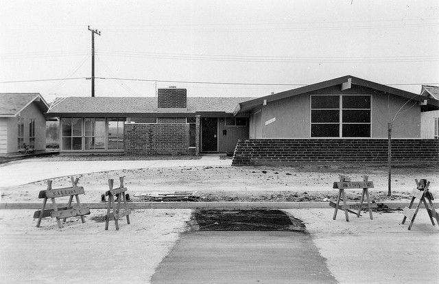 Tract House 12551 Foster Rd Rossmoor March 1960 Rossmoor Orange County County House