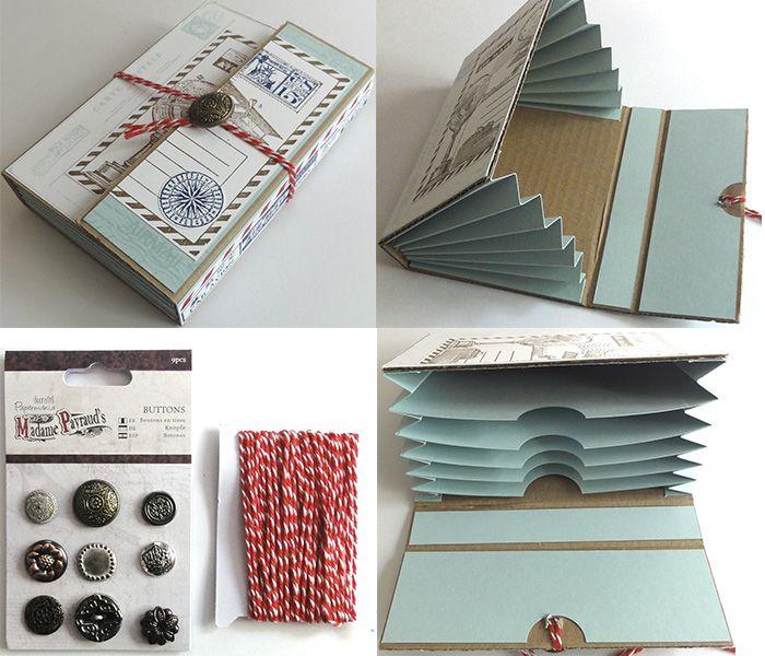 Practico archivador con estilo #vintage. Encuentra todos los materiales en www.artesaniasmontejo.com