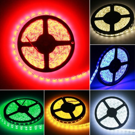 Waterproof Super Bright 5m 5050 Smd 300 Led Flexible Strip Light 12v New Metal Type Led Flexible Strip Strip Lighting
