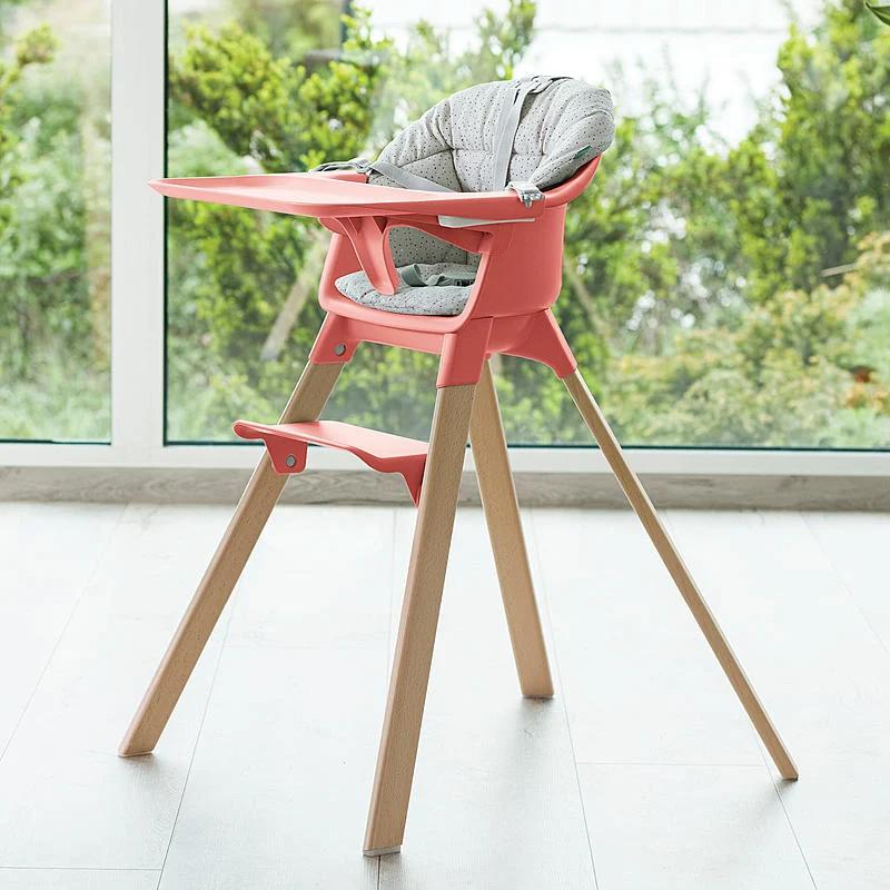 Stokke Clikk High Chair Soft Grey In 2020 High Chair Baby High Chair Chair
