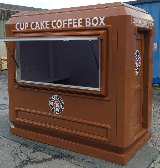 Cupcake Coffee Box In Scotland Turki