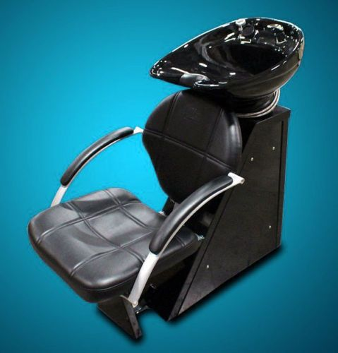shampoo sink and chair bailey for dogs new salon backwash station unit ceramic bowl beauty equipment ebay