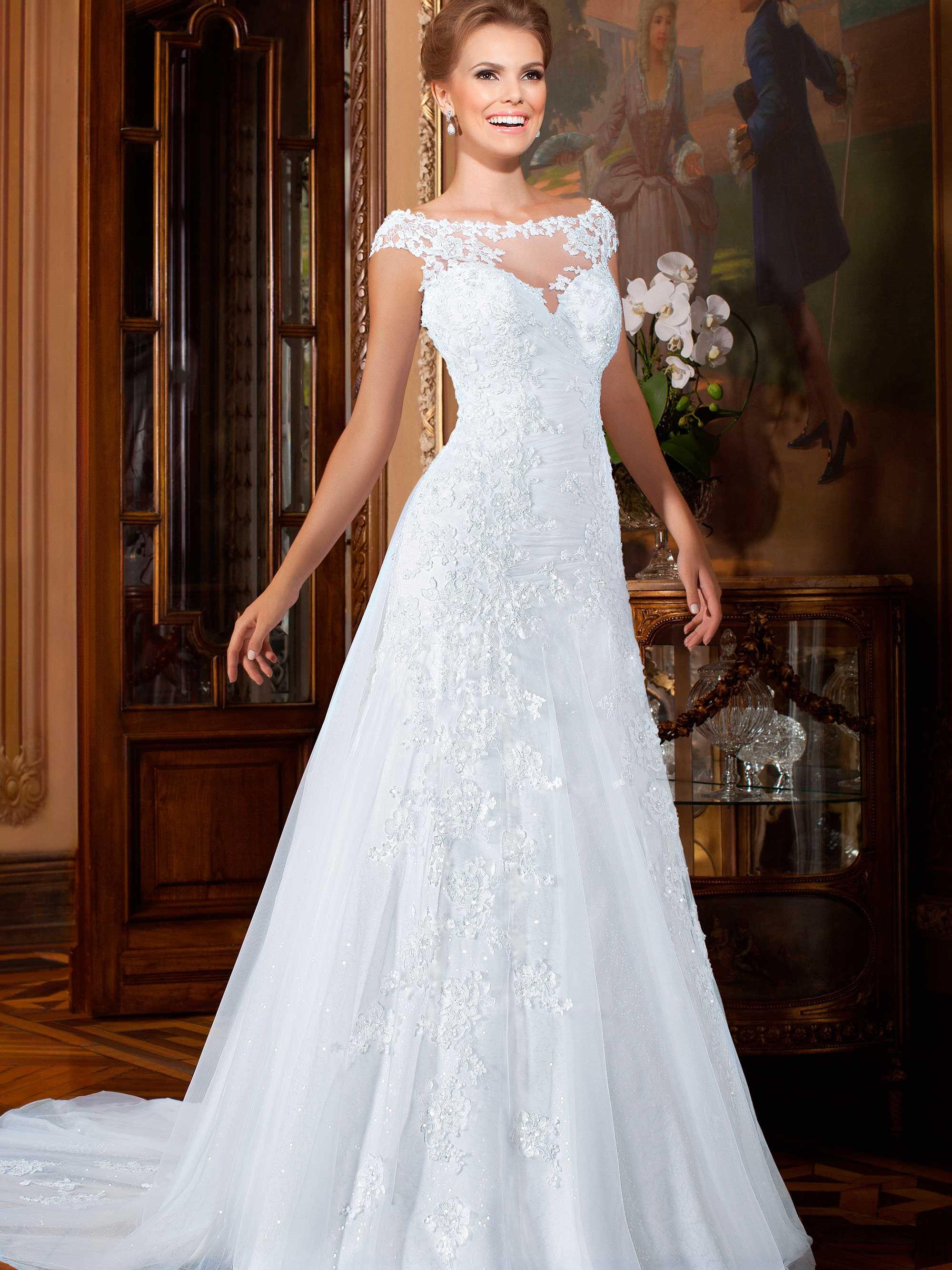 Vestidos de noiva coleção gardênia kleid pinterest wedding
