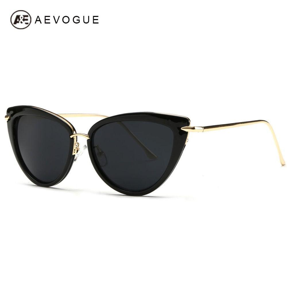 Barato Aevogue mais novo liga templo óculos De Sol mulheres óculos De Sol  De… e4744aa76f
