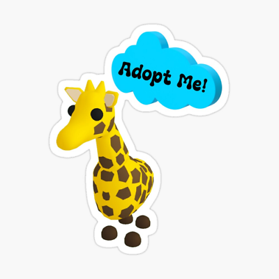 How To Get A Giraffe In Adopt Me Roblox