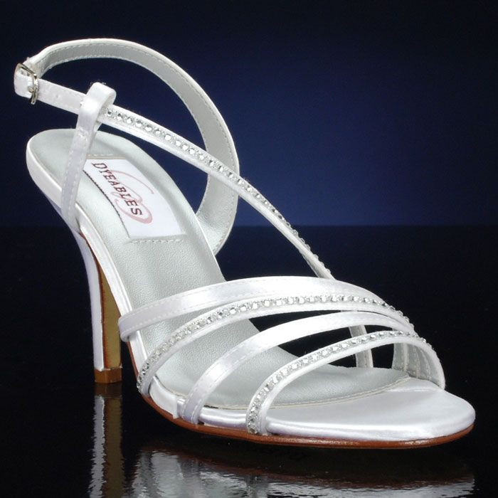Another dyeable option - still pricey, but a little bit better. From www.bridalshoes.com  Jo by Dyeables