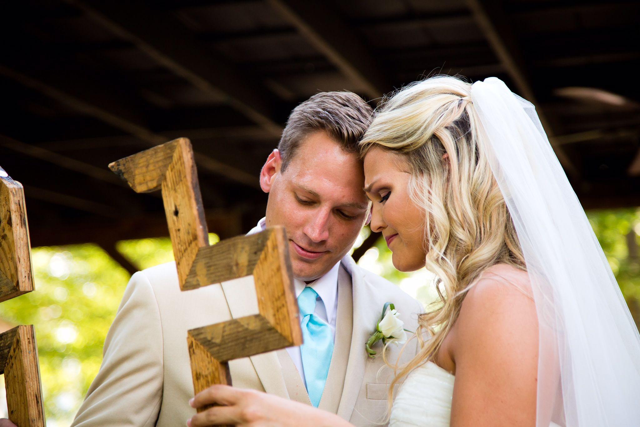 Unity cross. Wedding unity ceremony. nontraditional and