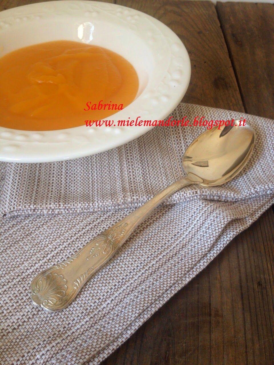 Miel & Mandorle: Vellutata leggera di carote e patate