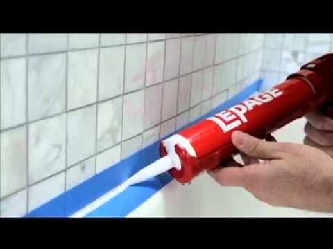 Remplacer Un Joint Silicone Tuto Brico De Robert Pour Un Joint Silicone Autour De La Baignoire Youtube Joint De Douche Joint Salle De Bain