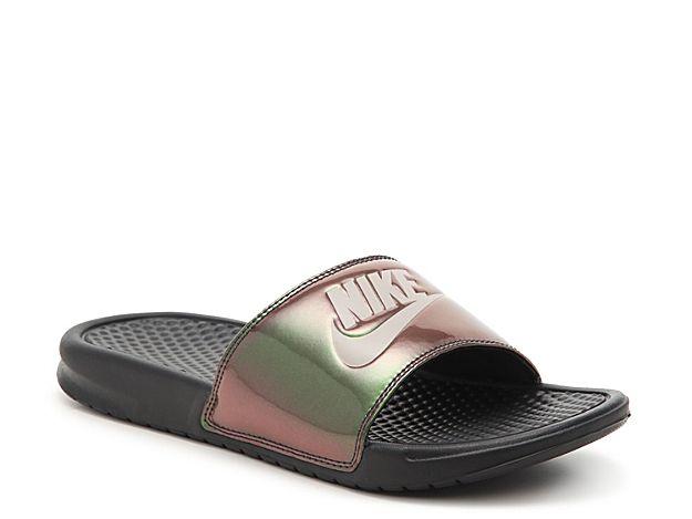 239a34c22675 Men Benassi Just Do It Slide Sandal - Men s -Iridescent