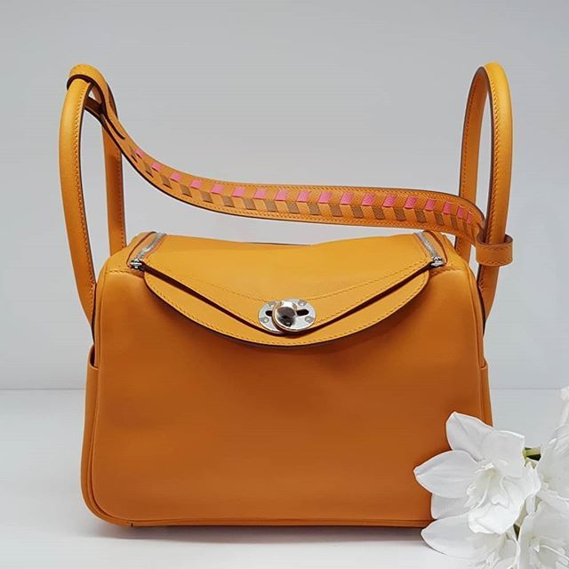 b398a200fd09 Birkin · Hermes · Fire Sale  9600 wire. New Apricot Tessage Lindy 26 Phw. C  stamp full set