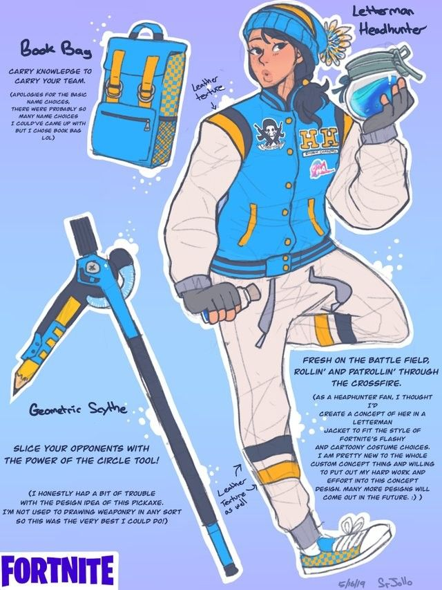 Reddit user SrJollo has come up with his own skin concept