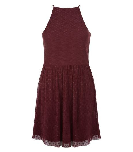 High Neck Dresses for Teens