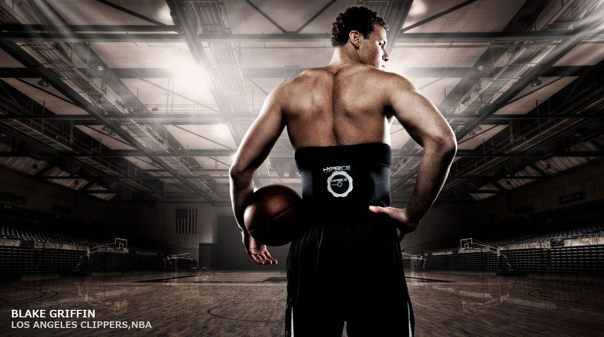 Hyperice Back Ice Wrap.ESTED AND USED BY PROFESSIONAL ATHLETES! Blake Griffin, Troy Polamalu, Hope Solo, Rudy Gay Tested and Endorsed Hyperice Products