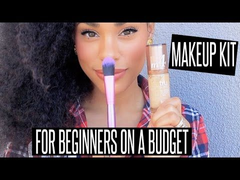 budget friendly starter makeup kit for beginners  youtube