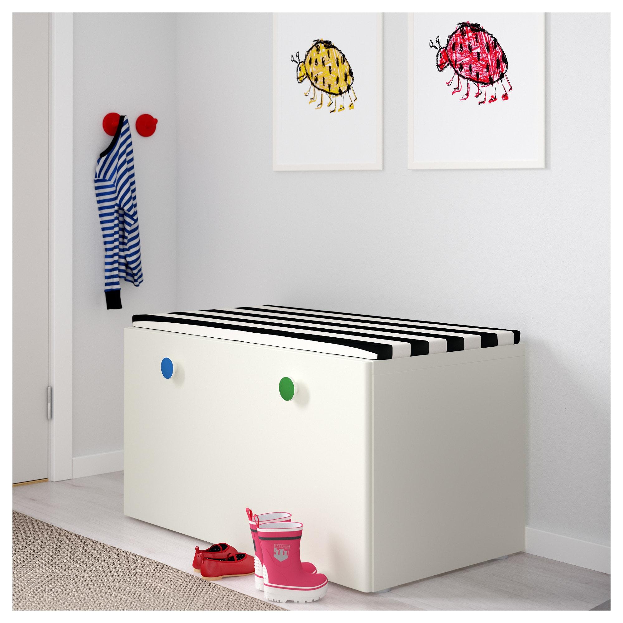 Stuva Folja Banktruhe Weiss Ikea Kindermobel Banktruhe Und