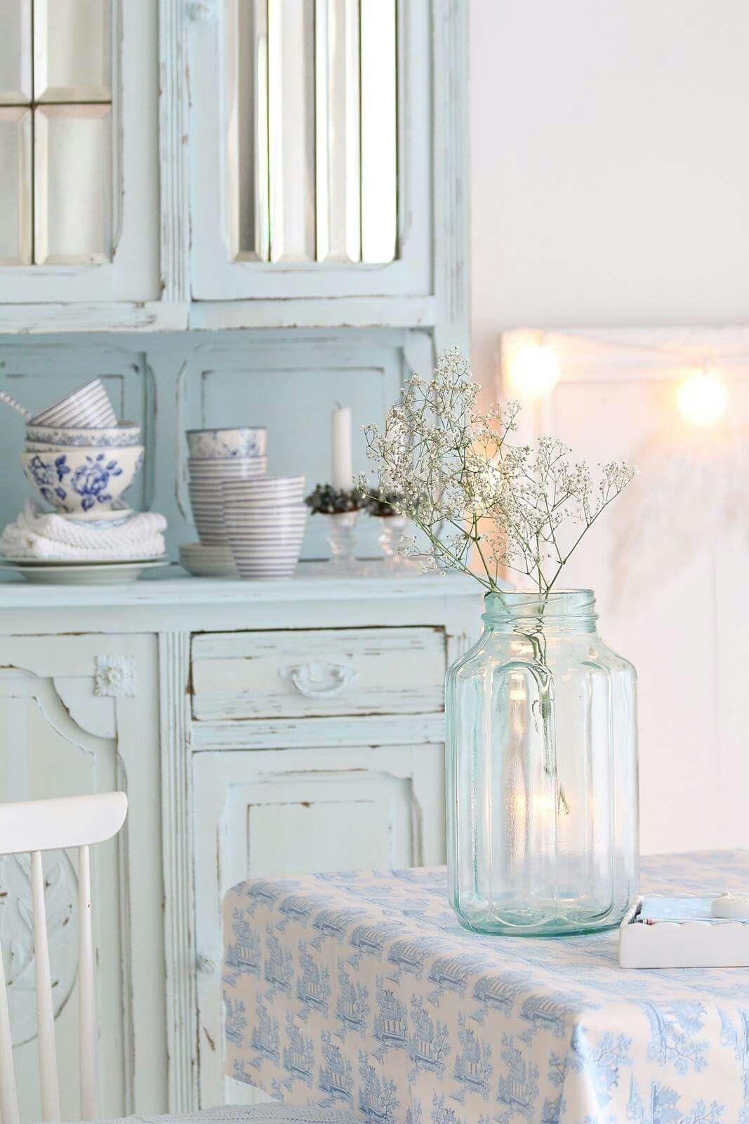 shabby blue... | vintage/cottage | Pinterest | Shabby, Shabby ...